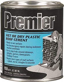 roof cement to patch holes