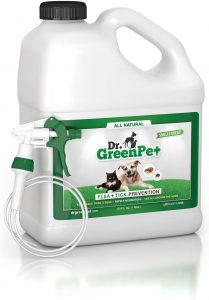 Dr. GreenPet All Natural Flea and Tick Prevention and Control Spray
