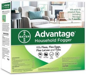 flea fogger Bayer Advantage Household Flea Fogger