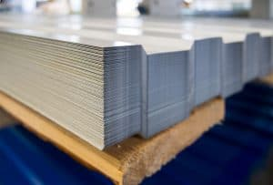 steel roof decking material