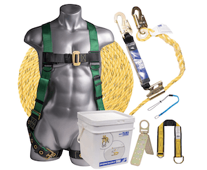 safety harness kit for roofers