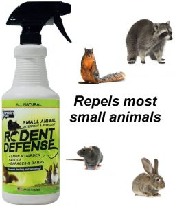 animal repellent to keep the off of your roof