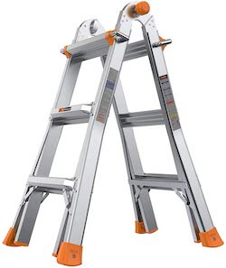 safe ladder for checking your roof