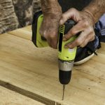 decking with a drill