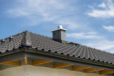 roof ridge vent for tile roof