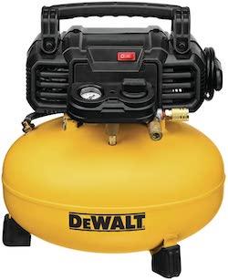 dewalt air compressor for nail gun