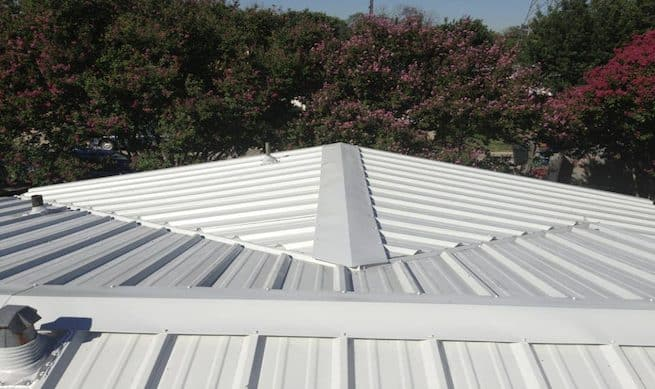 eco friendly metal roofs