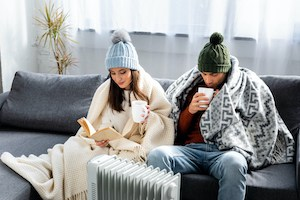 using a space heater in your house